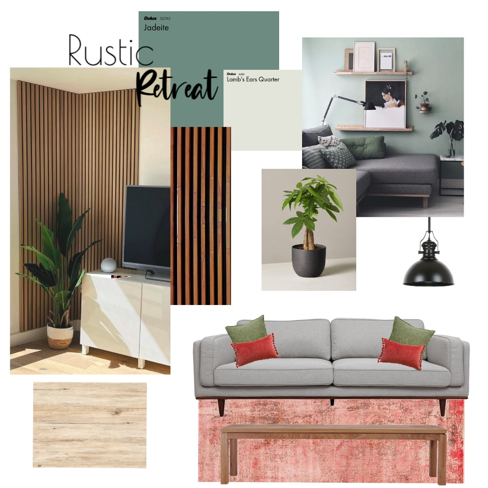 Rustic Retreat Interior Design Mood Board by A total Mood on Style Sourcebook