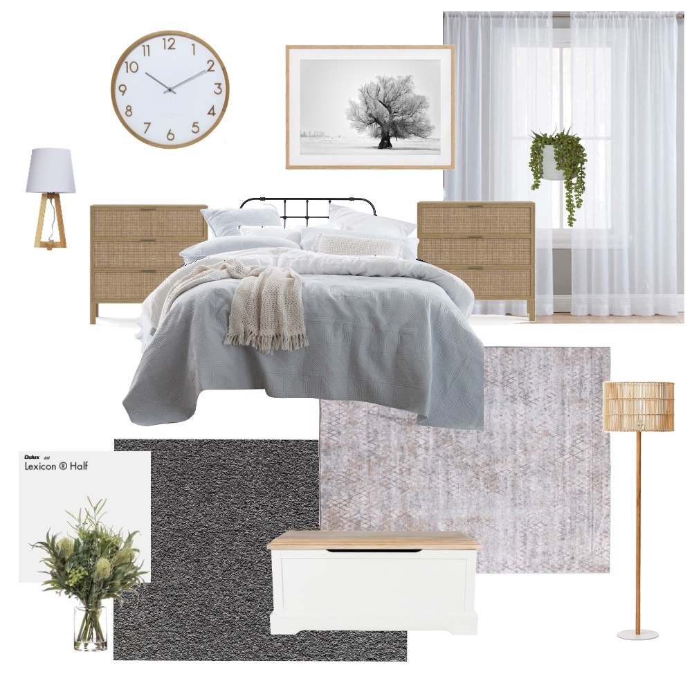 Our bedroom Interior Design Mood Board by robyneames on Style Sourcebook