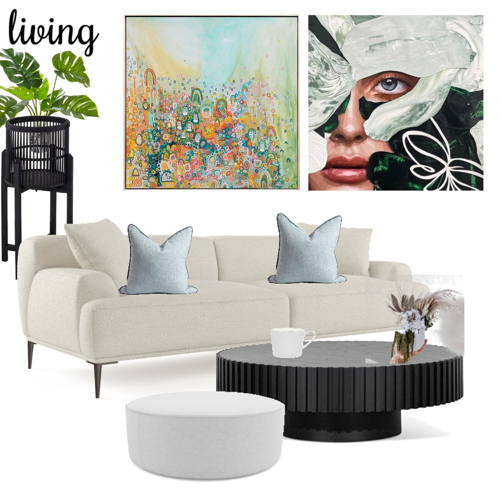 living Interior Design Mood Board by A Piece of Brie on Style Sourcebook