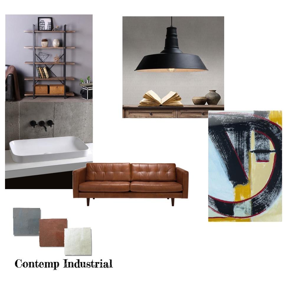 Contemporary Industrial Interior Design Mood Board by LOLITA on Style Sourcebook