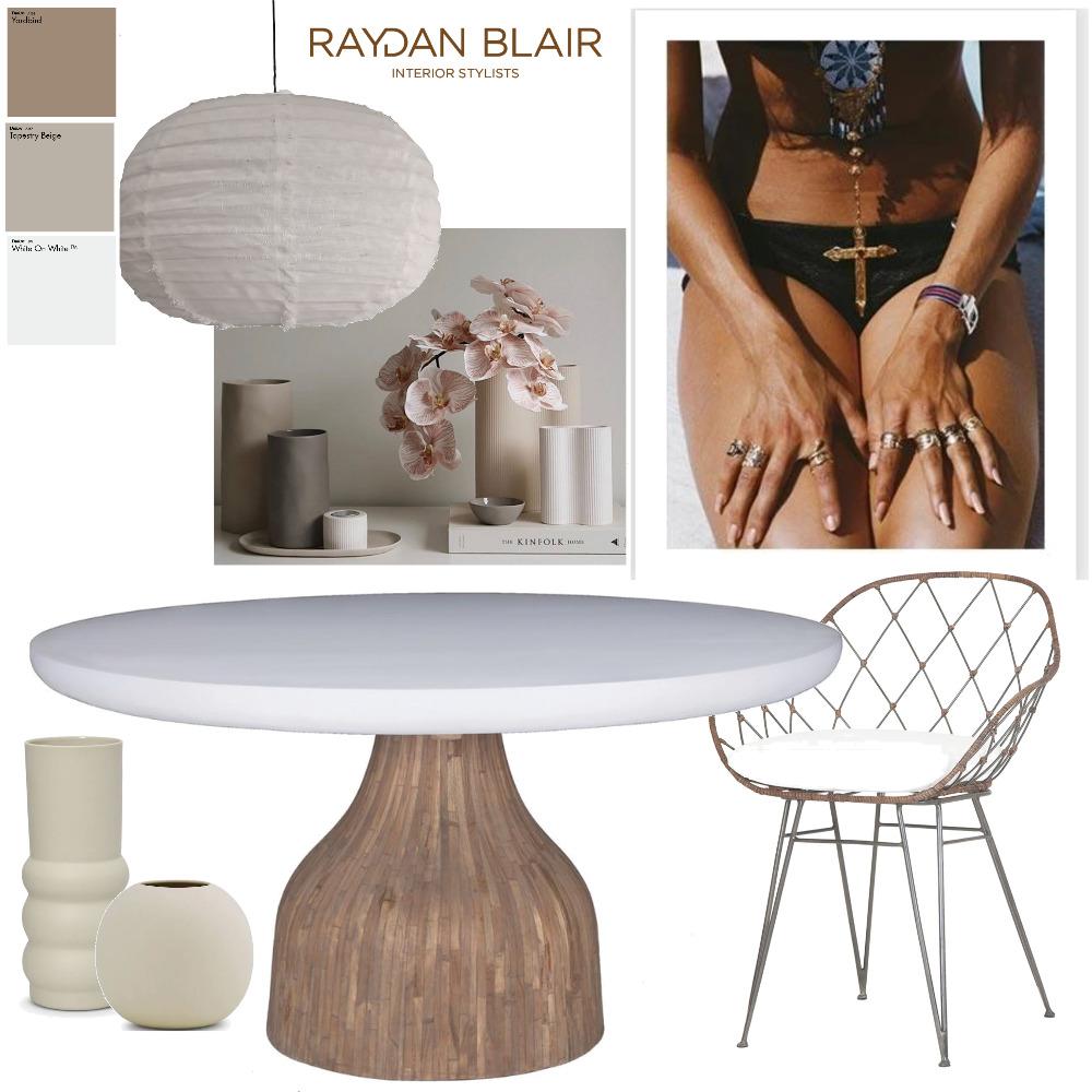 Coastal Dining Room Mood Board by RAYDAN BLAIR on Style Sourcebook