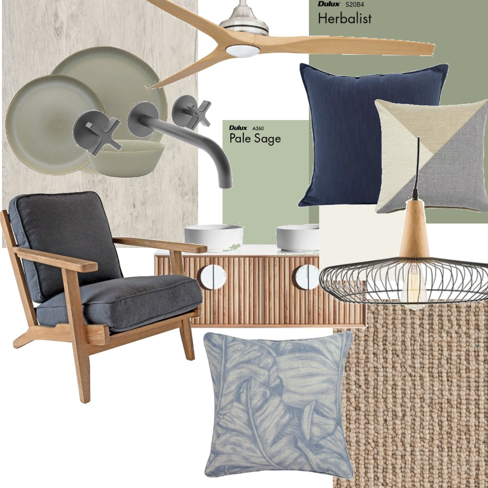 Beach chalet Interior Design Mood Board by Krystal Fraser on Style Sourcebook