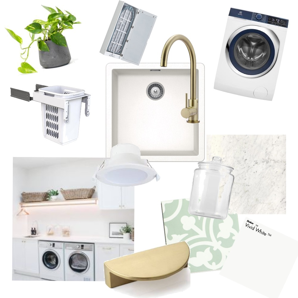laundry Interior Design Mood Board by chyron on Style Sourcebook