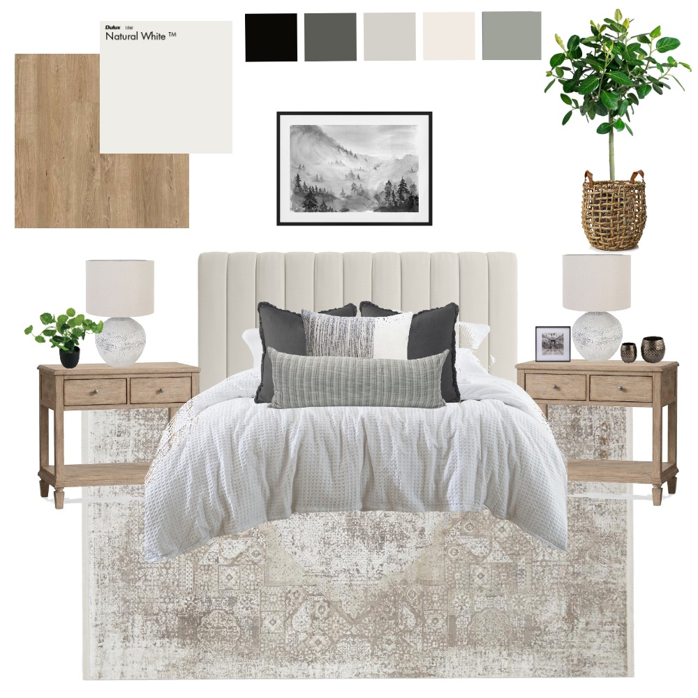 Master bedroom Interior Design Mood Board by charm11 on Style Sourcebook