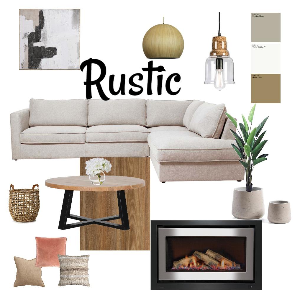 RUSTIC Interior Design Mood Board by ELIZE CAROTO KINNEAR on Style Sourcebook