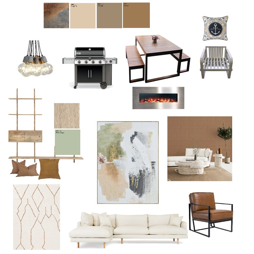 highend contemporary Interior Design Mood Board by vrushali on Style Sourcebook