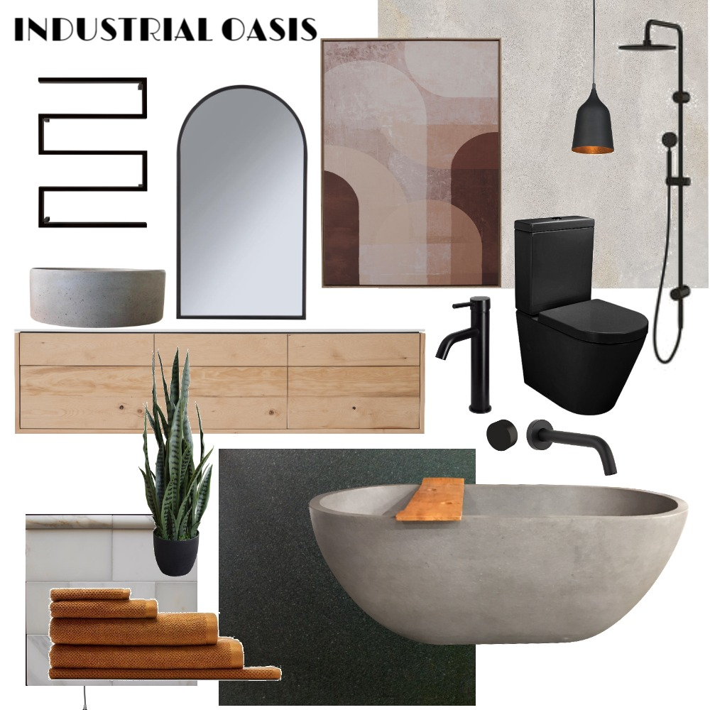 Industrial Interior Design Mood Board by kirsty edwards on Style Sourcebook