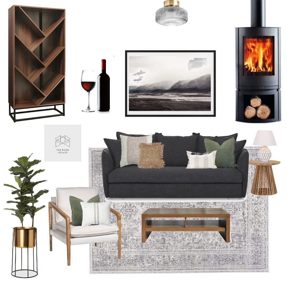 Glenforest Conversation area Interior Design Mood Board by The Room Update on Style Sourcebook