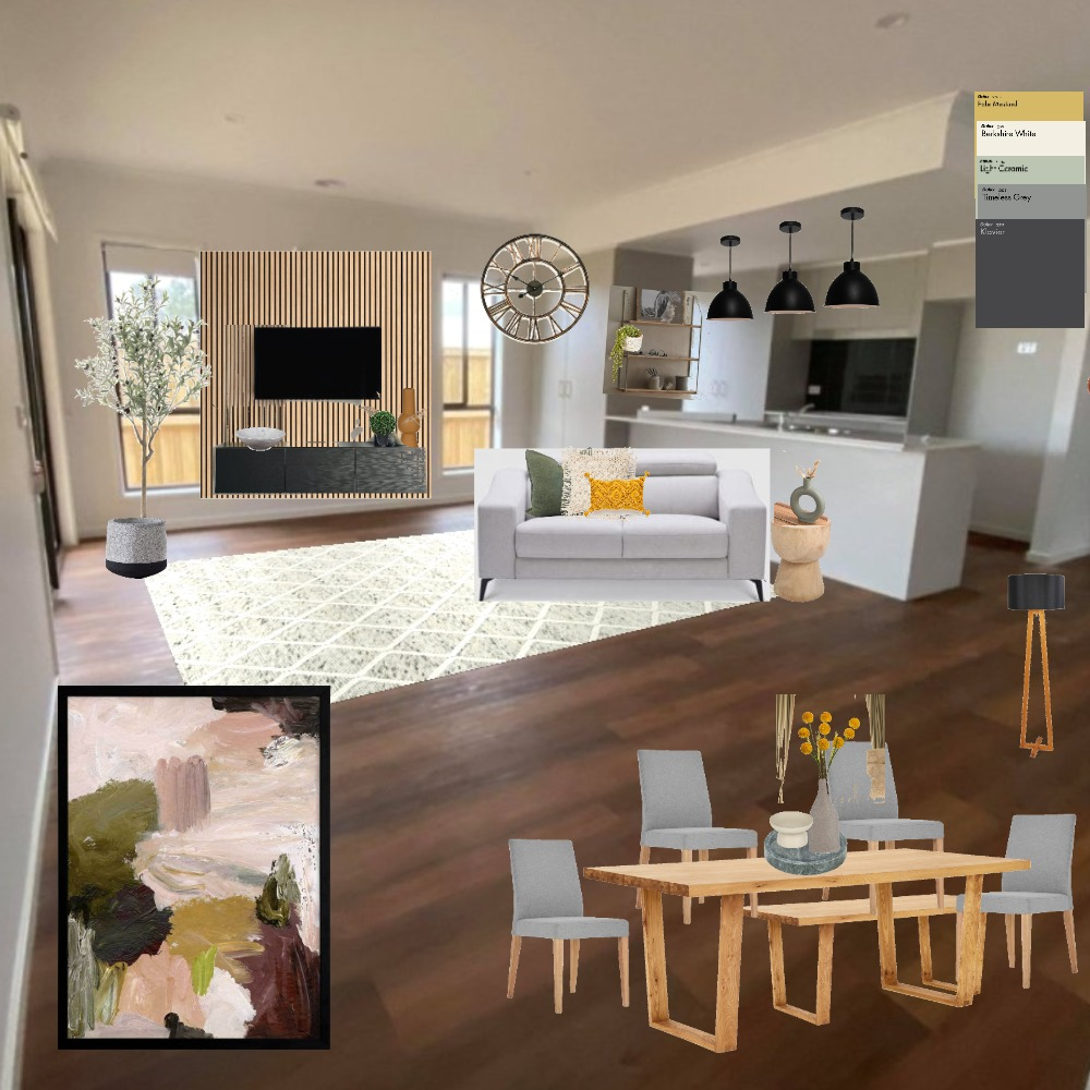 kitchen/living Interior Design Mood Board by Vee. on Style Sourcebook