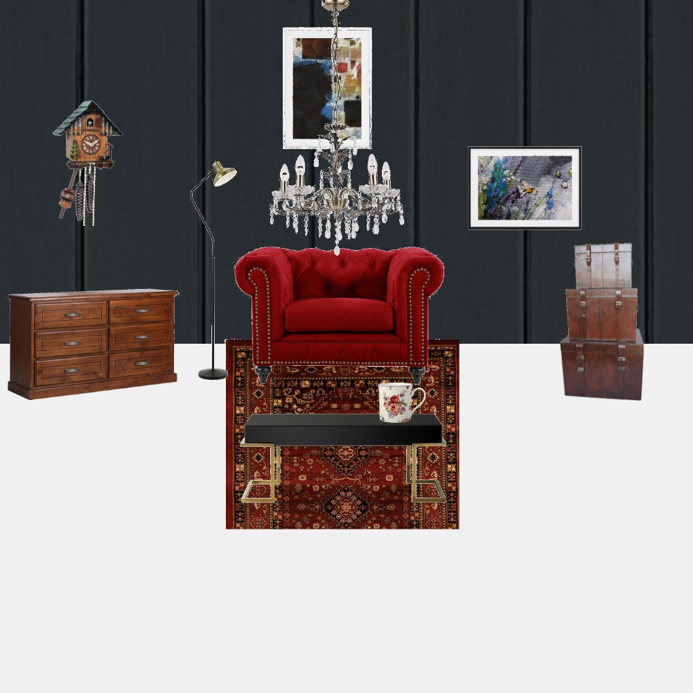 Victorian Living Space Interior Design Mood Board by Gumpeee on Style Sourcebook