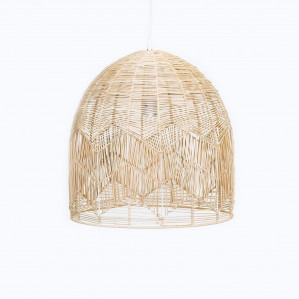 Natural Rattan Lace Pendant - Amalfi by Ivory & Deene, a Pendant Lighting for sale on Style Sourcebook