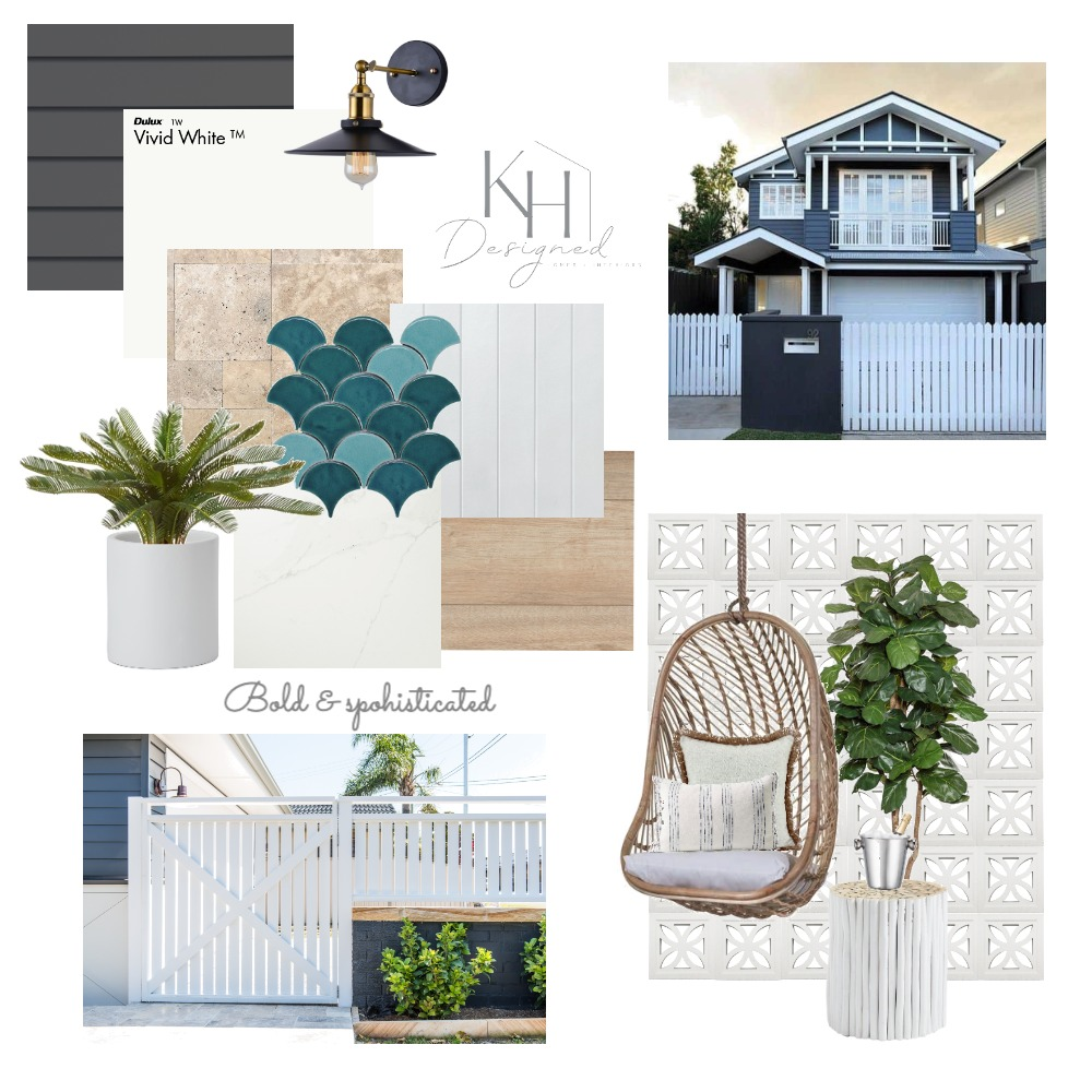 Contemporary Hamptons Interior Design Mood Board by KH Designed on Style Sourcebook