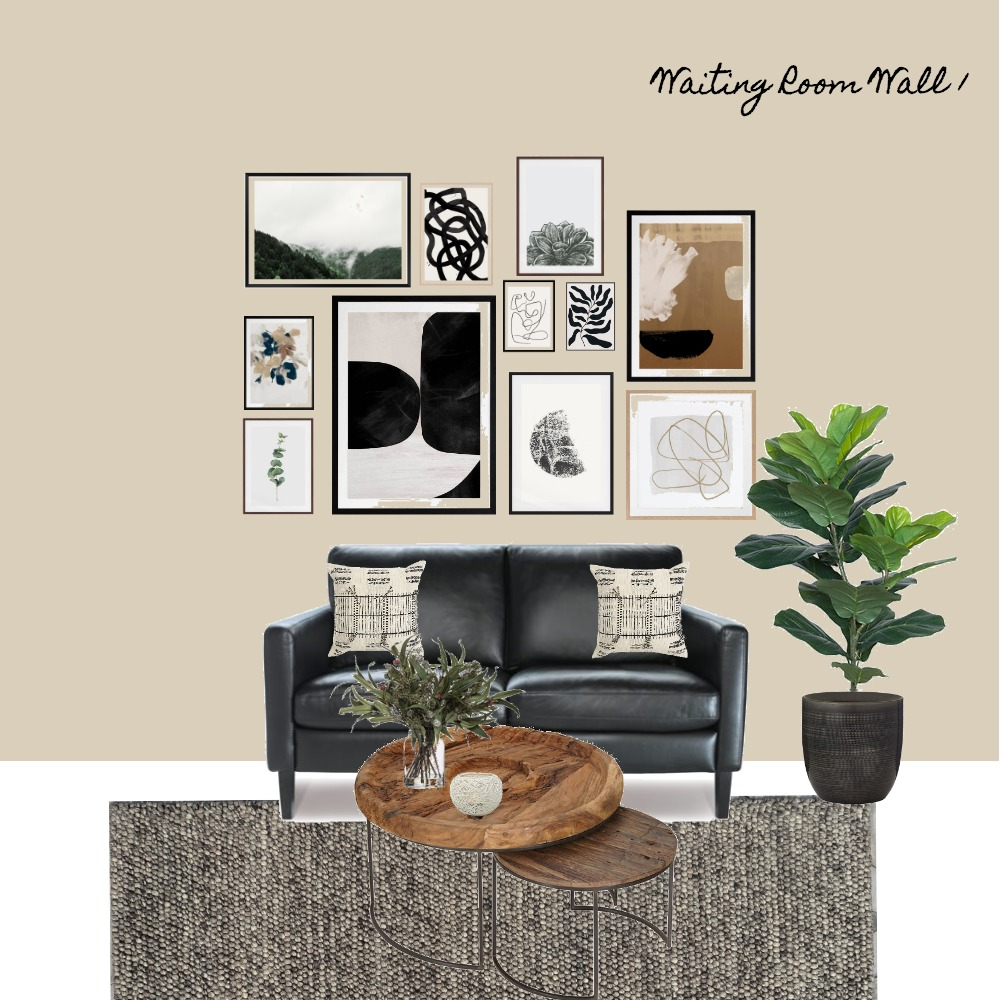 KVA-Waiting Room Gallery Wall Interior Design Mood Board by MLInteriors on Style Sourcebook