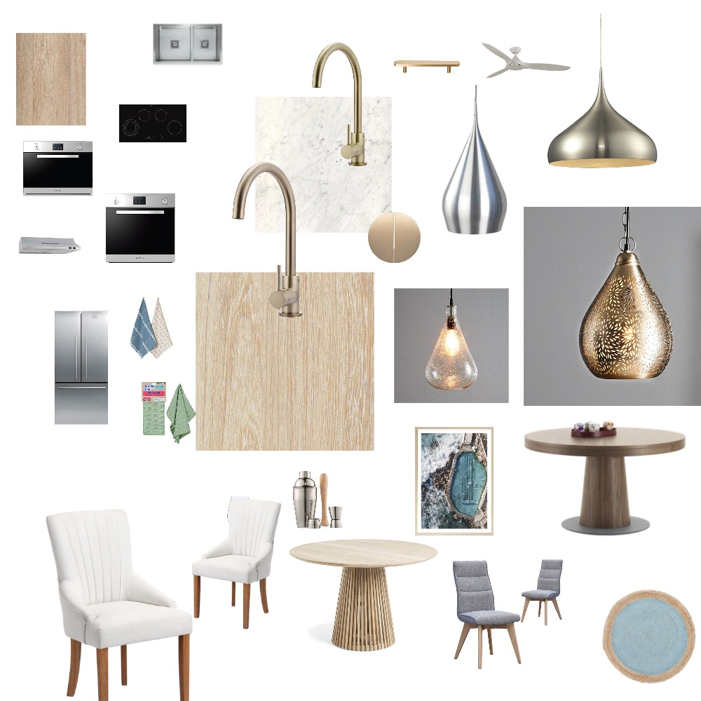 Kitchen & Dining room Interior Design Mood Board by AilishBooth on Style Sourcebook