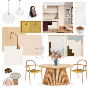 Solace Kitchen Interior Design Mood Board by Two Wildflowers on Style Sourcebook