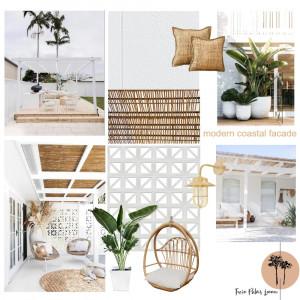 James Hardie - Modern Coastal Facade Interior Design Mood Board by twin_palms_lennox on Style Sourcebook