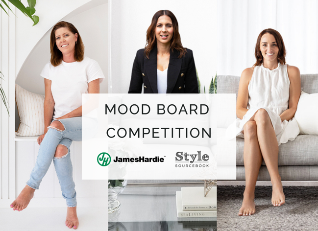 We've teamed up with James Hardie to giveaway a $500 gift voucher to 3 lucky winners, plus a one on one consultation with one of our designer judges. Click on the link to find out more.